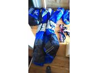 Kite surfing 9m bow kite barely used