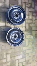 Renault clio steel wheels (new )