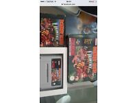 Donkey Kong country boxed