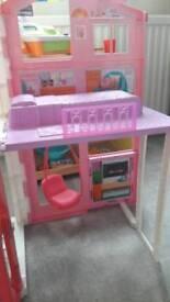 Barbie Pink Passport 3 Story House