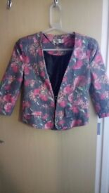 Women's floral jacket XS