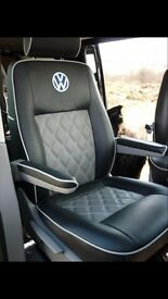 LEATHER CAR SEAT COVERS VOLKSWAGEN SHARAN FORD GALAXY