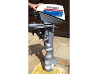 Evinrude Worktwin 6 (6HP) outboard engine