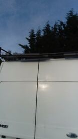 Transit roof rack takes all types off ladders very good condition