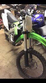 Kawasaki kx250f 2015