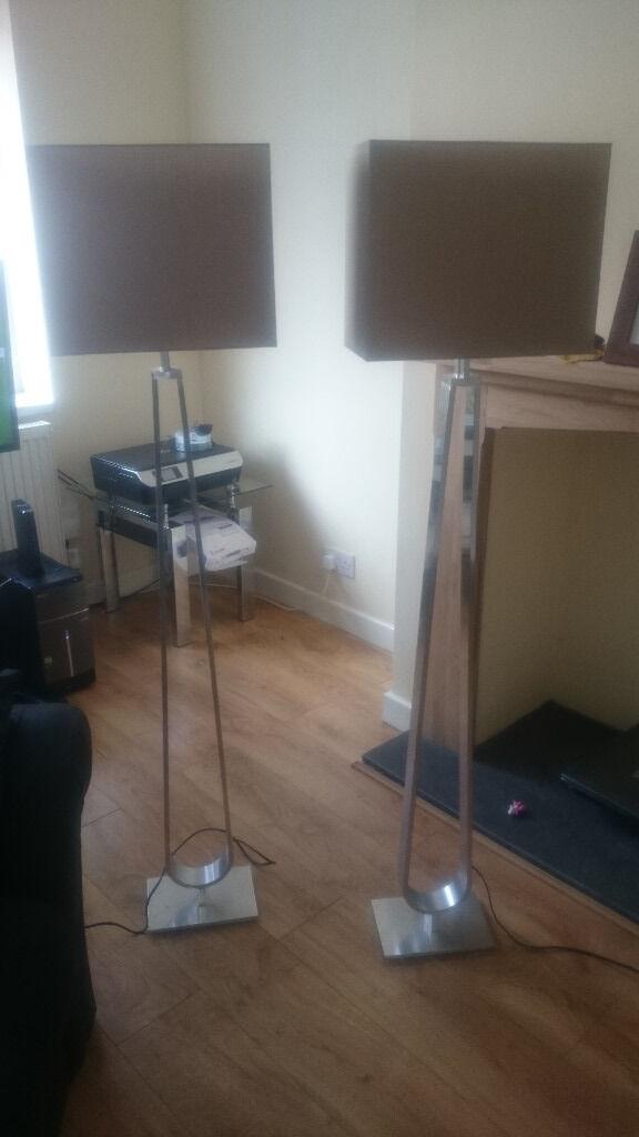 2 X Ikea Klabb Floor Lamps In Widnes Cheshire Gumtree