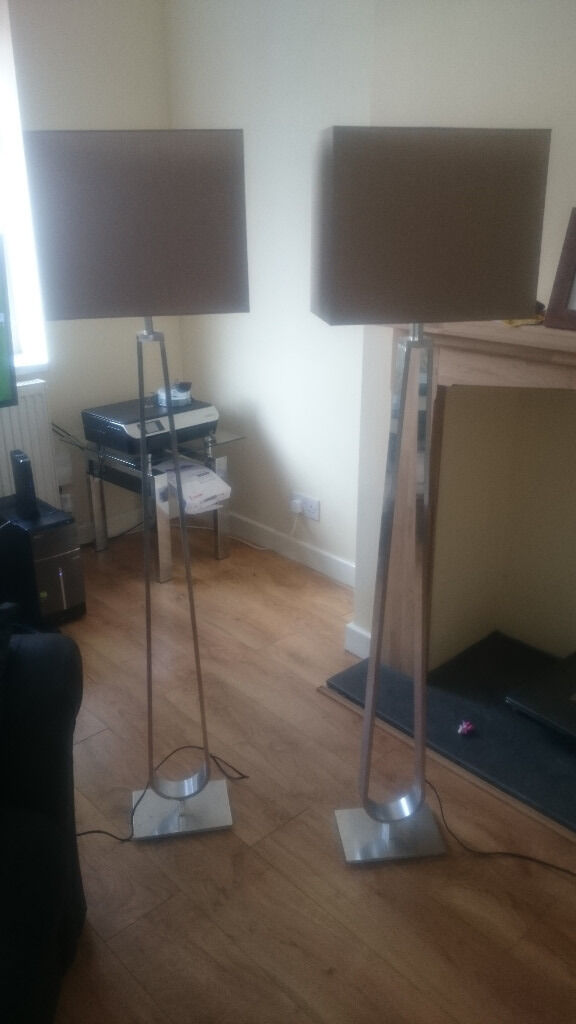 2 x ikea klabb floor lamps in widnes cheshire gumtree. Black Bedroom Furniture Sets. Home Design Ideas