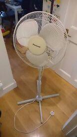 Tall electric fan
