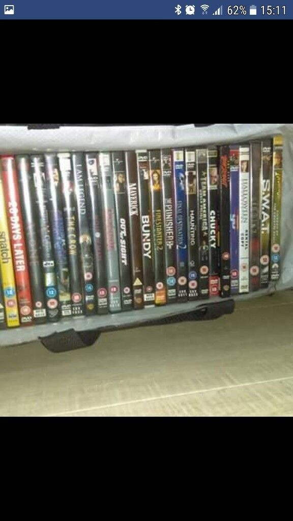 30 dvd's for £16