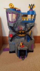 Reduced - Batman playset bundle