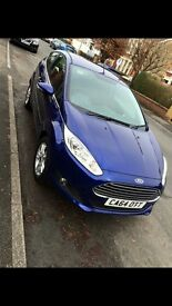 Deep impact blue, Ford Fiesta for sale.
