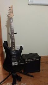Yamaha Electric Guitar - ERG 121C With Practise AMP and Stand- £70 ONO