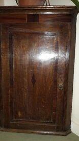 Wooden Corner Wall Cupboard