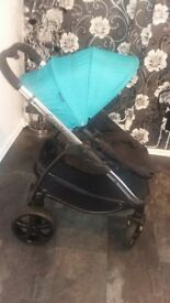 iCandy Pram & Maxi Cosi Car Seat