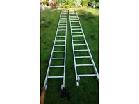 Set of 16 ft Extendable Ladders