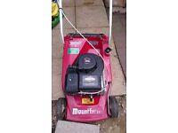 Mountfeild empress petrol mower