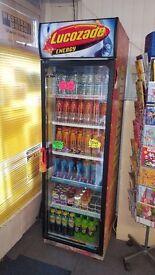 Lucozade fridge