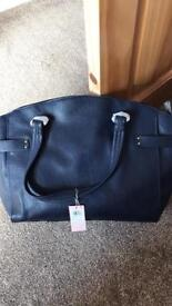 Leather brand new John Lewis handbag
