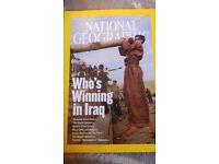 Approx 50 National geographic magazine's 2003-2011