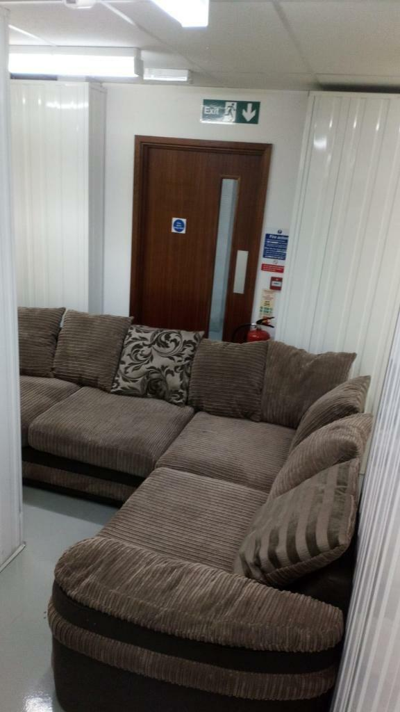 Brown Corner Sofa In Derby Derbyshire Gumtree