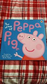 Peppa pig book for sale. It is The Story of Peppa Pig. Great book for preschoolers