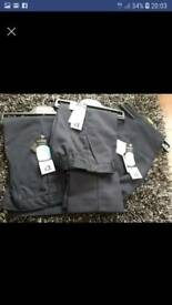 Boys navy trousers