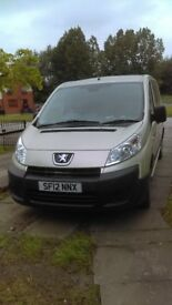 2012 PEUGEOT EXPERT TEPEE DIESEL WHEELCHAIR ACCESSIBLE VEHICHLE ONLY COVERED 12000
