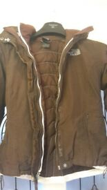 womans north face coats for sale and cream blazer