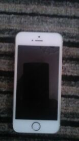 Silver Iphone 5s 16gb good condition