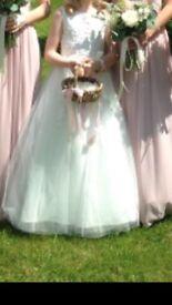 Wedding flower girl pretty basket