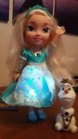 Frozen Snow glo doll