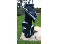 Complete Set of Dunlop 65i Titanium Matrix Golf Clubs