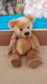 Charlie bear club bear pip squeak.