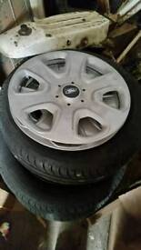 "Ford 14 "" wheels and trims"