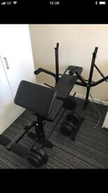 Weight bench immaculate