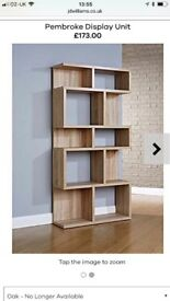 New Mountrose Display Unit in Oak