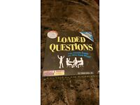 Brand new loaded questions board game