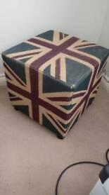 Union Jack Footstool