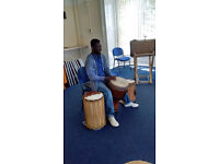 Professional Djembe Drum Class
