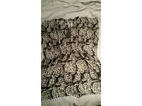 Women's one size leopard print beachwear in very good condition