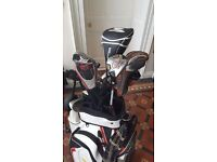 Full set of ping irons plus driver etc with Powakaddy freeway 2 and bag - see details!