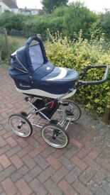 Romantic pram is a complete '' Infant to toddler package ''