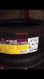 Tyre 235 45 17