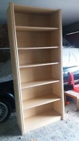 tall bookcase in good condition