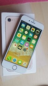 Apple iPhone 7 32gb Gold Simlock O2, Giffgaff Like New