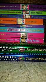 Assortment of Jacqueline Wilson books