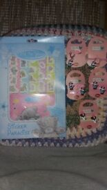 Me to you sticker album with stickers and Minnie Mouse bits