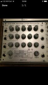 Doepfer A-127 VCRF Triple Resonance Filter Eurorack Module