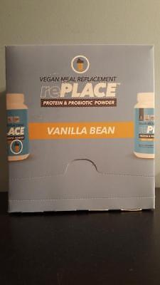Truvision Replace Protein   Probiotic Powder Vegan Meal Replacement Vanilla Bean