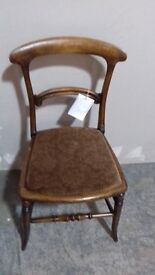 Antique Hall Bedroom Chair